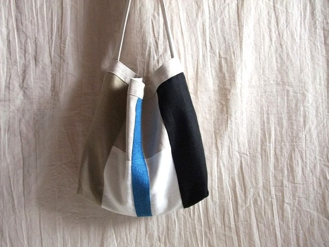 itoiro bag (blue line)