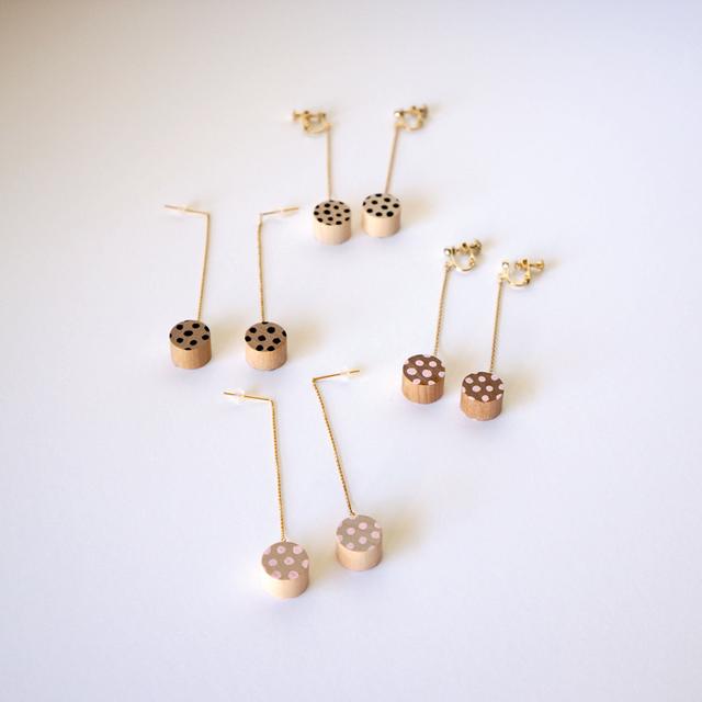 swing rondo pierce & earring - dot (...