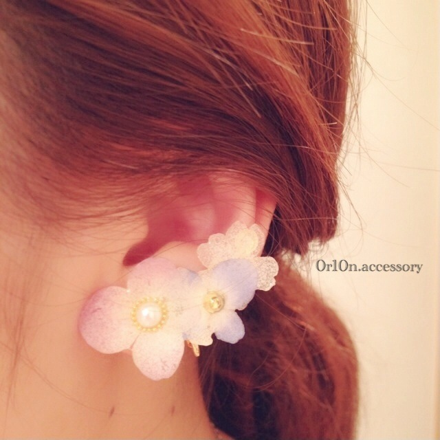 flower Earring.��no/1��