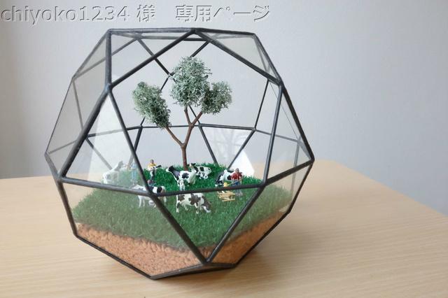 chiyoko1234 様専用多面体テラリウム
