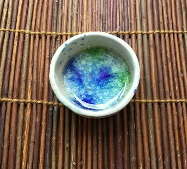 ★湖ガラスカップ