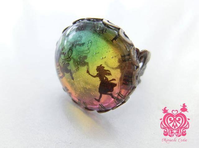 (生産終了)アリスの指輪 トロピカル