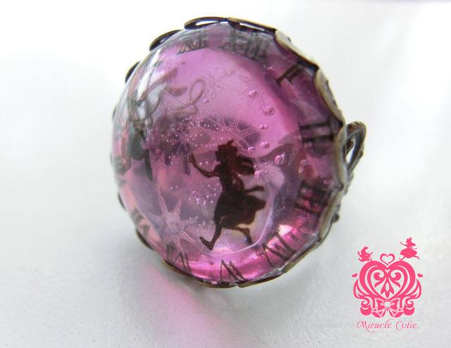 アリスの指輪 ピンクグラデーション