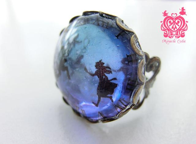 アリスの指輪 ブルーパープルグラデーション ver.2