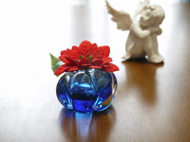 Blue Koron(一輪挿し)