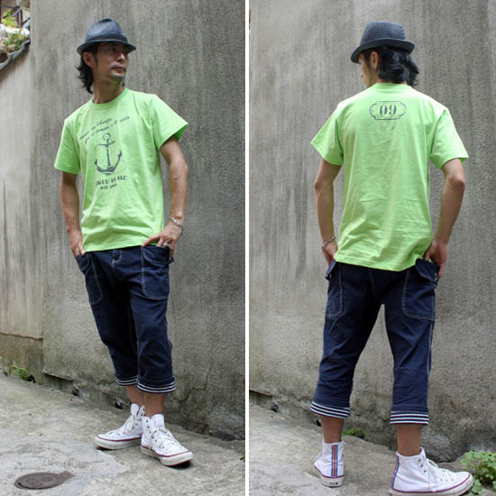 【JIKUU】 メンズTシャツ『アンカー』