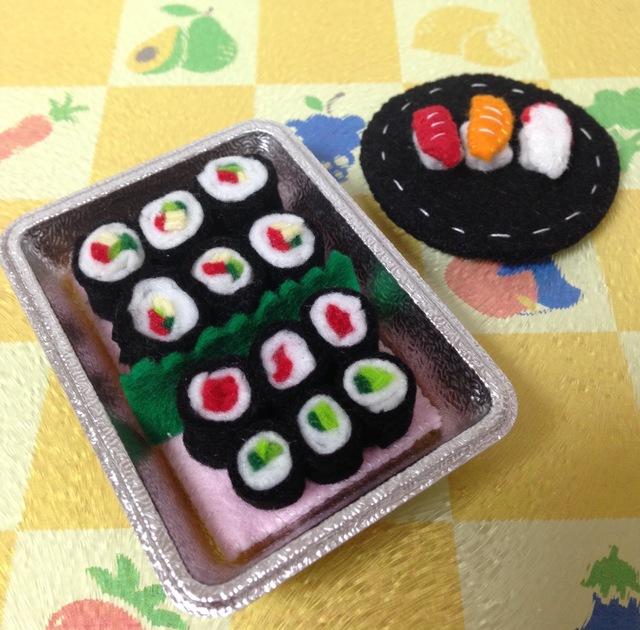 【送料無料】ミニチュア巻き寿司