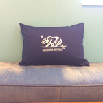 CALOFORNIA PILLOW CASE[NAVY]