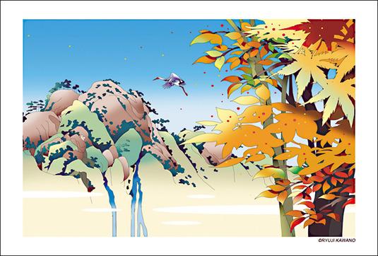 和風な風景の5枚セット