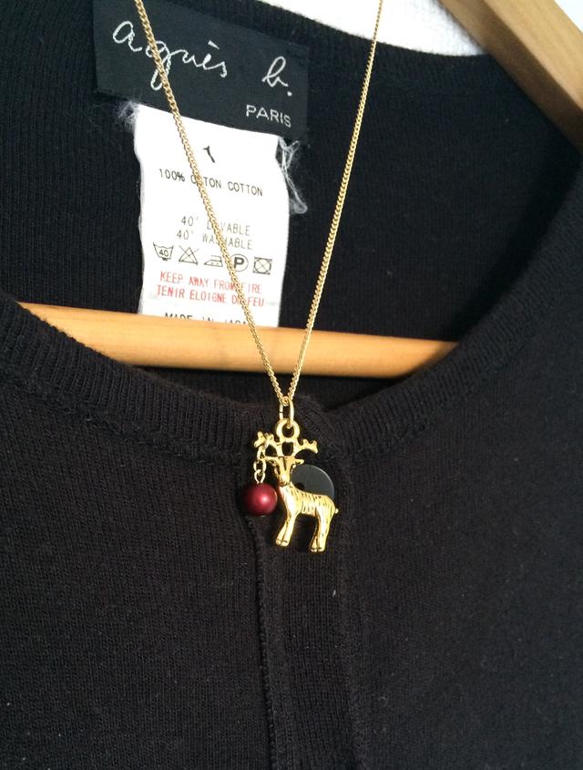 トナカイのネックレス