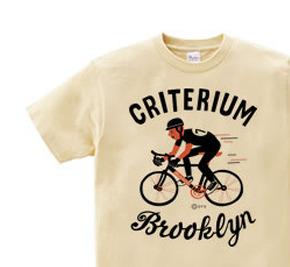 【再販】ブルックリン★自転車レース WS〜WM?S〜XL Tシャツ【受注生産品】