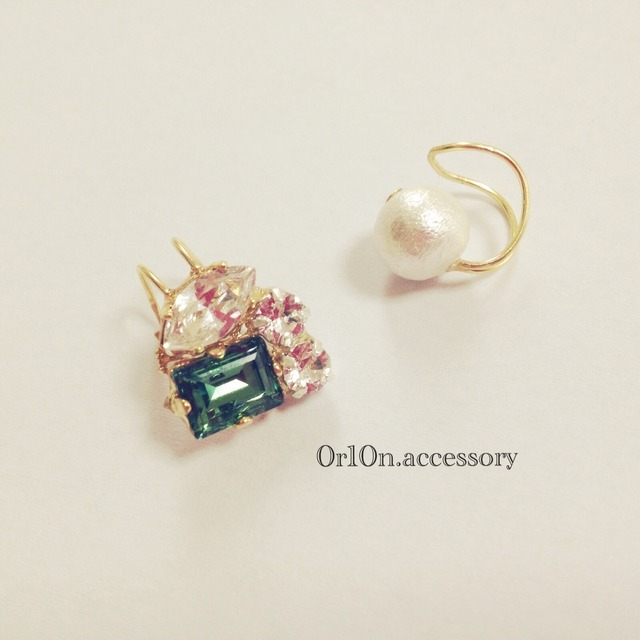bijou&pearl earcuff.【no/2】