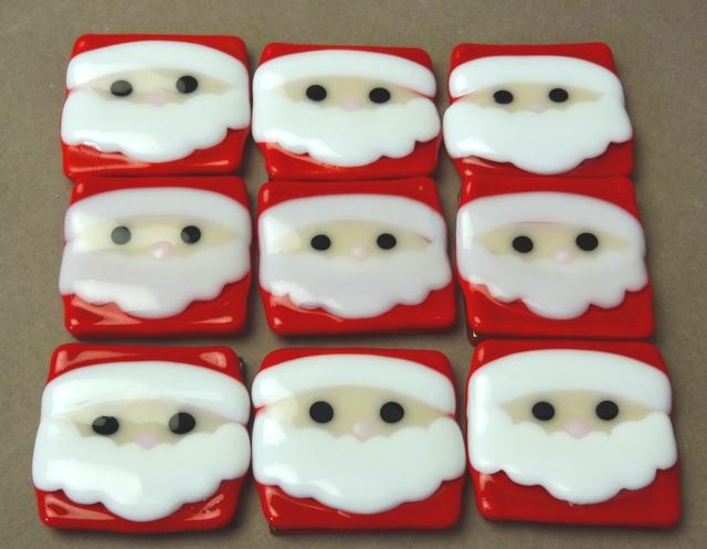『クリスマス』サンタクロースのお箸置...