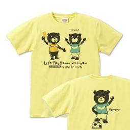 サッカー&イージー☆ベア XS(女性XS〜S)   Tシャツ【受注生産品】