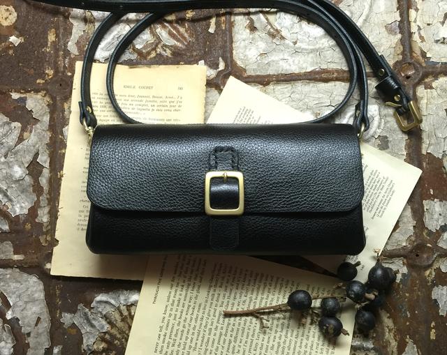 *受注製作*Walletbag (Black) お財布...