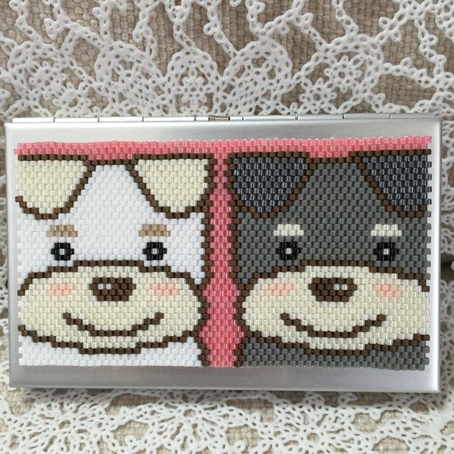 カードケース(シュナちゃんズ?)