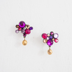 BUBBLE Pierces / Earrings -purple-