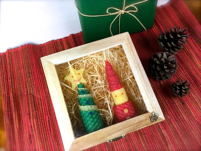 ツリーとサンタのクリスマスギフト/ミ...