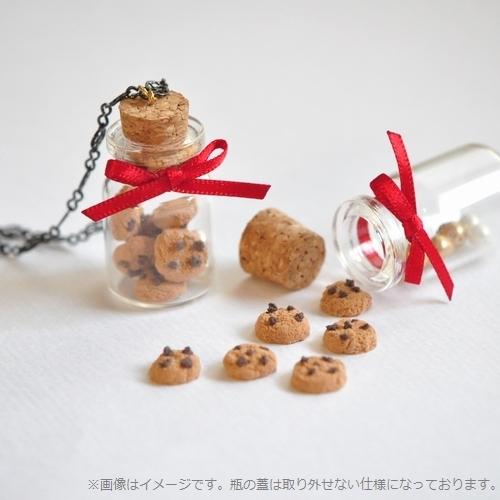 ミニチュアクッキーボトルネックレス