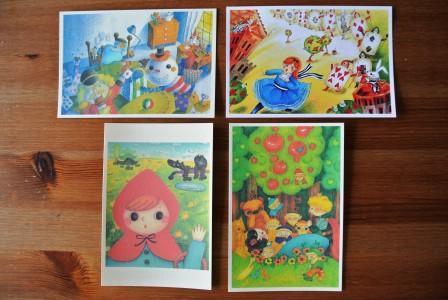 童話シリーズ ポストカード