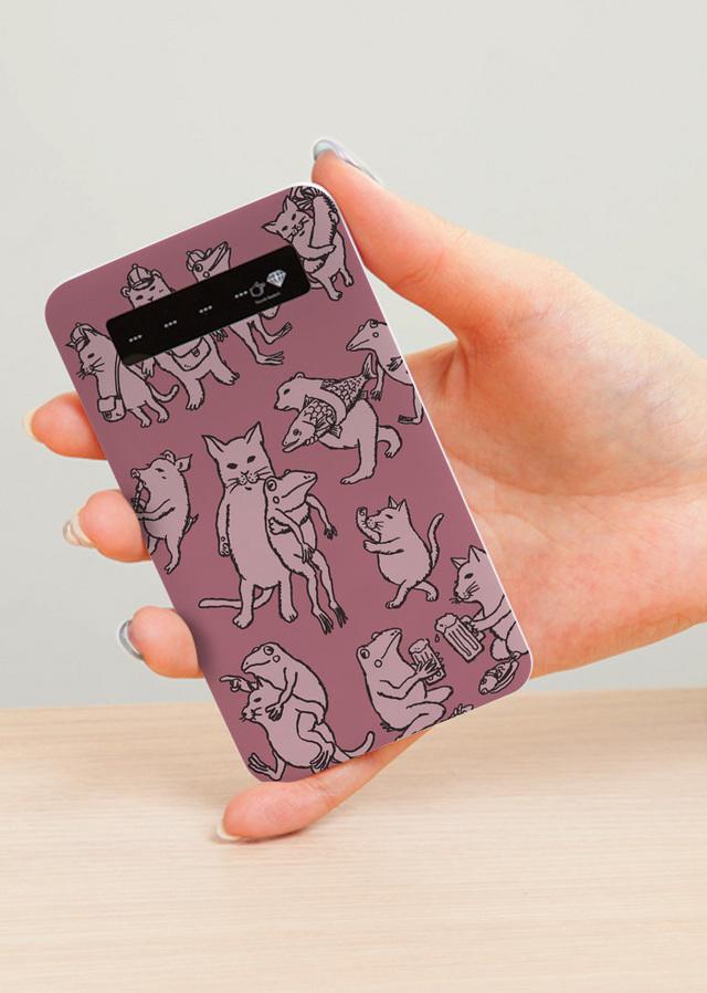 モバイルバッテリー なかよし(ピンク...