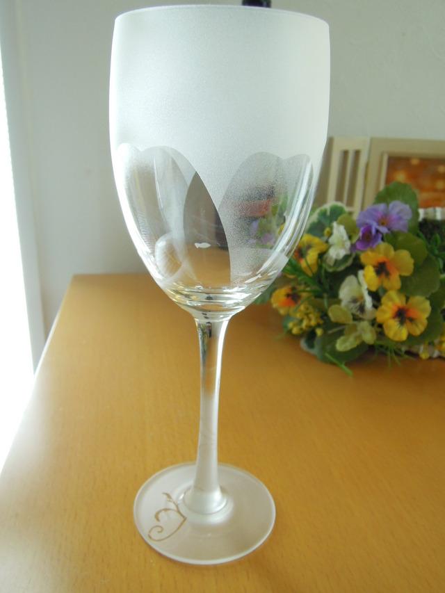 〜fish&flower〜 花とおさかなvol.2 ワイングラス