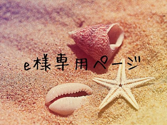 erikaiwase様専用ページ