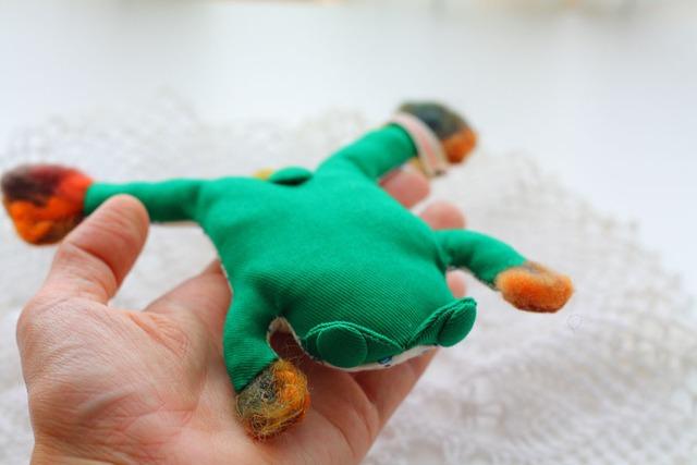【カエルのキーホルダー】 COAAAA