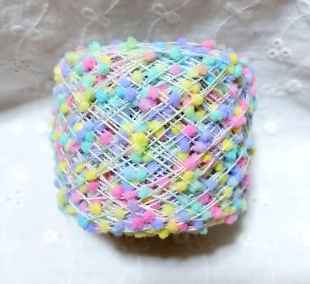 素材糸〜ポンポン〜