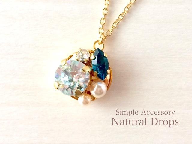 Aqua Blue Necklace・・・424