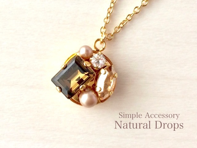 Antique Brown Necklace・・・422