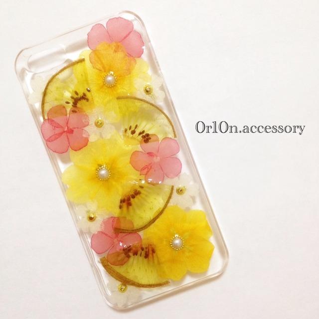iphone5/5sケース【キウイ】
