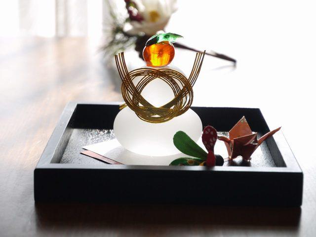 鏡餅Set (追羽根&折鶴)