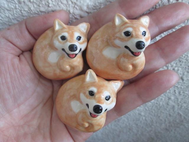 柴犬の箸置き(3個セット)