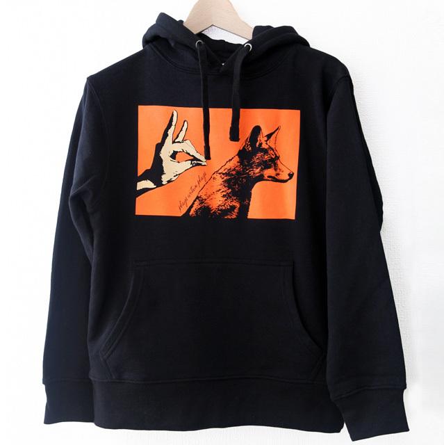 パーカ Fox Shadow / ブラック