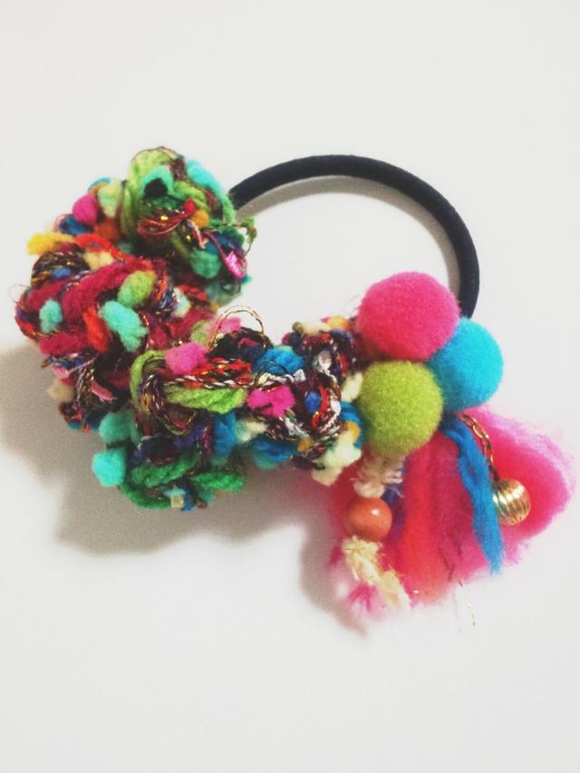 **sleeper**  いろいろ糸のカラフルヘア...