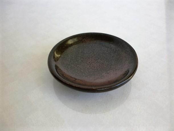 ミニチュア陶器☆和食器☆ 黒天目皿