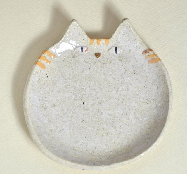 ねこ皿(とら)レギュラーサイズ