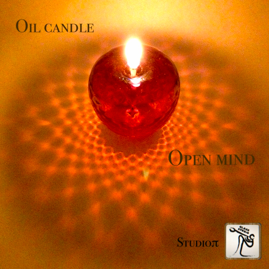 Open mind(リキッドガラスキャンドル)