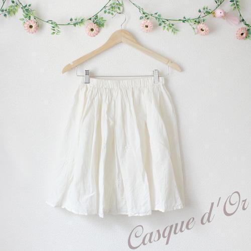 フラワリングカバースカート【オフホワイト】
