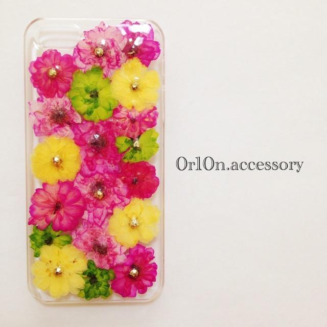iphone5/5sケース【ミニバラ】