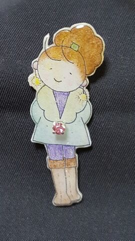 Girl's fashion  ブローチ