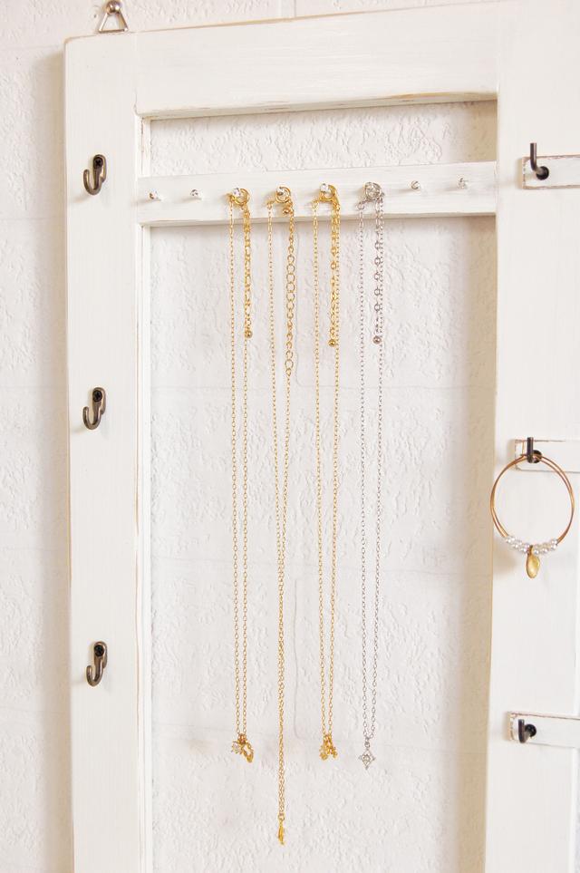 アクセサリー収納~ 壁掛けタイプ ピアス・指輪・ネックレス