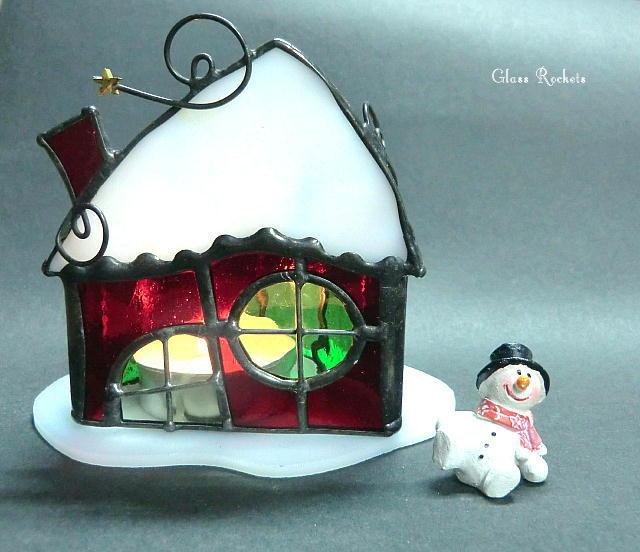 クリスマス「サンタハウス 」キャンドル...
