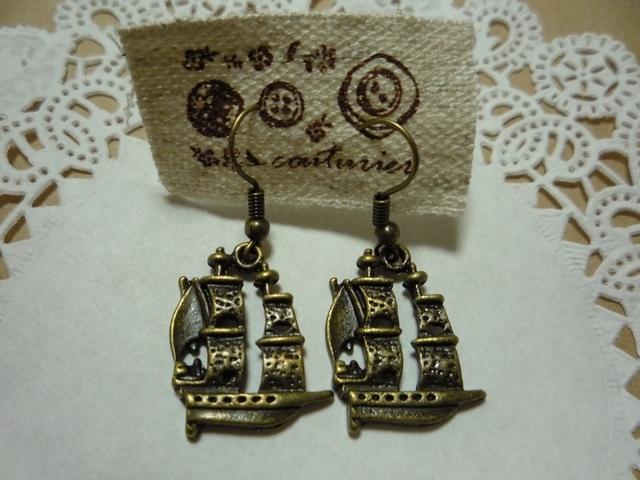 海賊船のピアス
