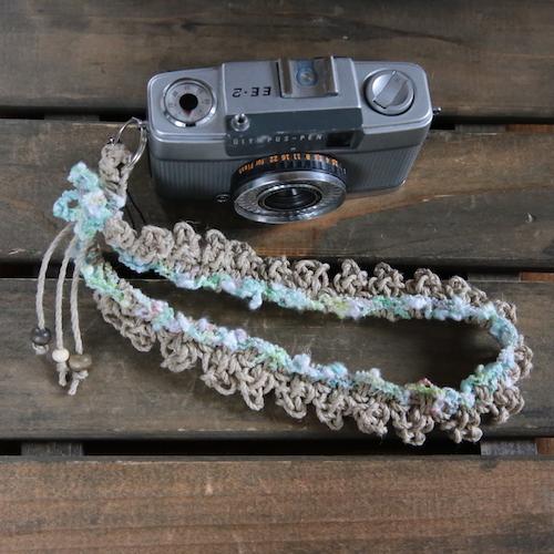 限定色ヘンプハンドカメラストラップ#6r