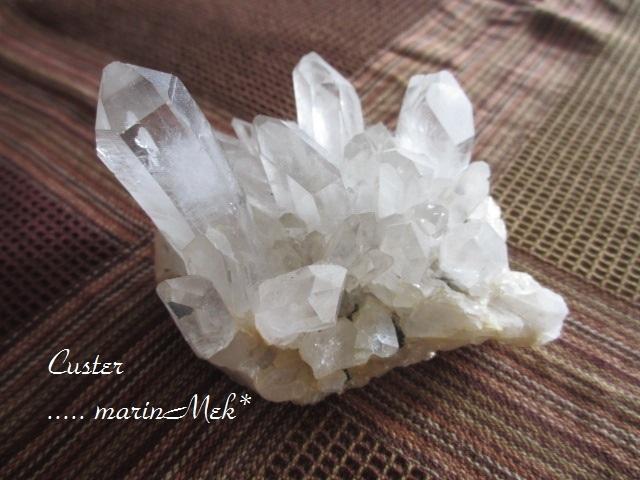 水晶クラスター500g