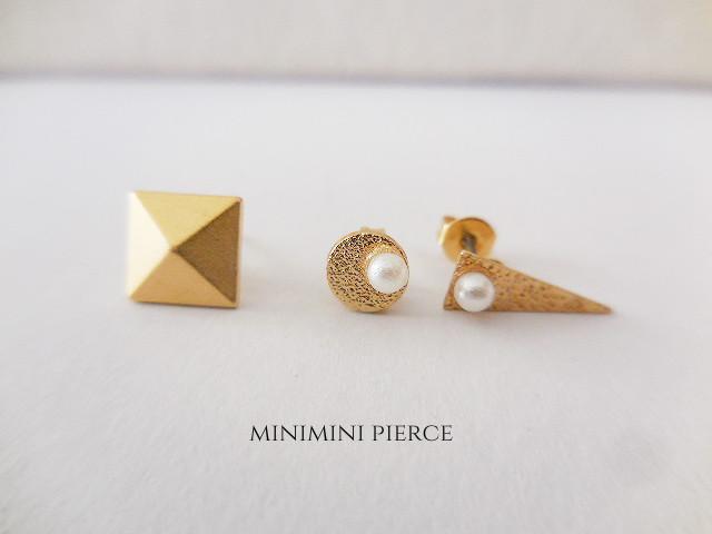 ミニミニピアス 3個セット