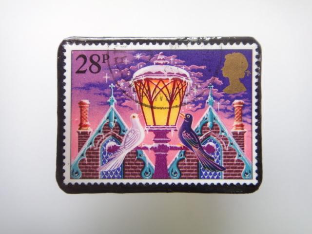 「再販」イギリス クリスマス切手ブ...