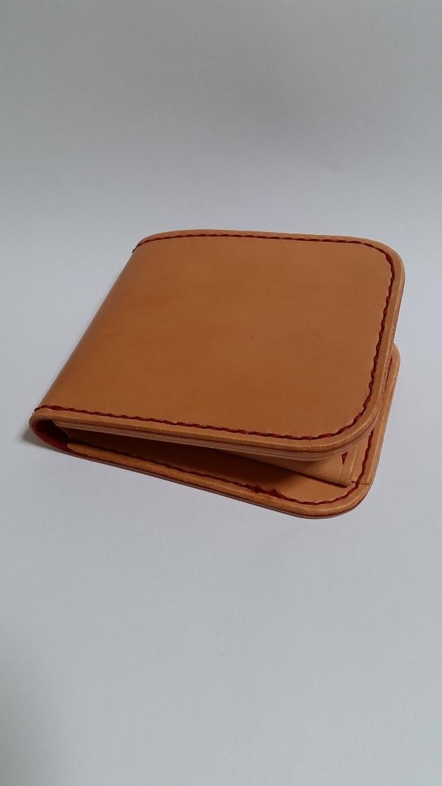 赤色仕様ラティーゴの二つ折り財布